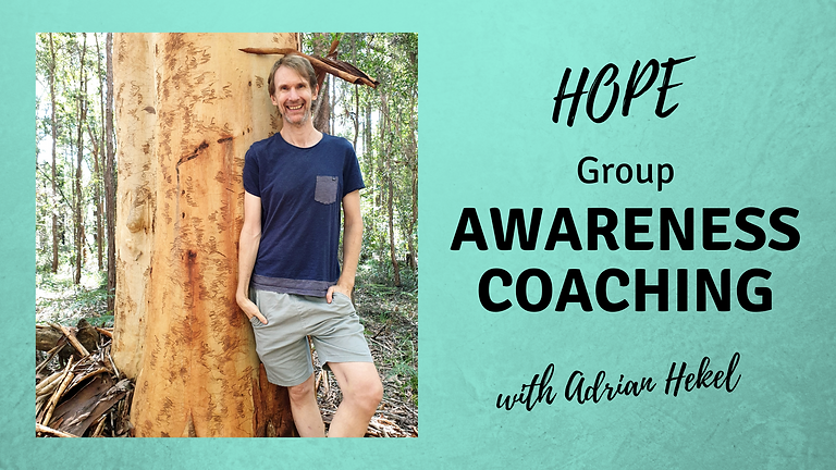 HOPE Awareness Group Coaching International
