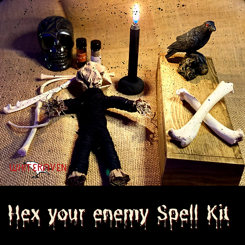 Hex your enemy spell kit
