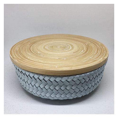 Bamboo Korb mit Deckel S