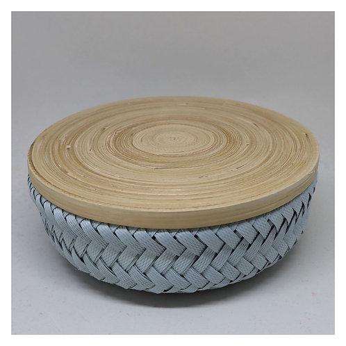 Bamboo Korb mit Deckel XS