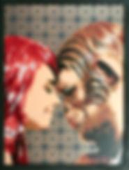 """5. Voxx Romana """"Venus to Mars"""" - 18""""x24"""""""