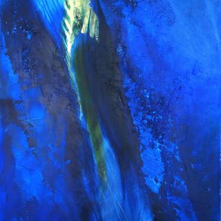Blau auf Gold IX