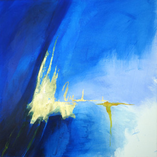 Blau auf Gold VI