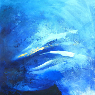 Blau auf Gold XIII