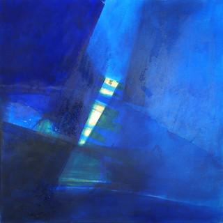 Blau auf Gold II