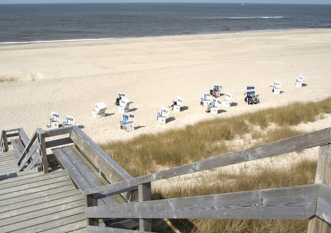 Eigner Strand im Hochsommer