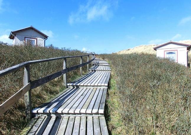 Dünenübergang zum Strand