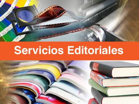 ¿Qué son los servicios editoriales?