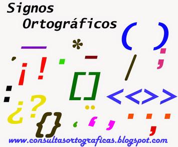 Signos ortográficos