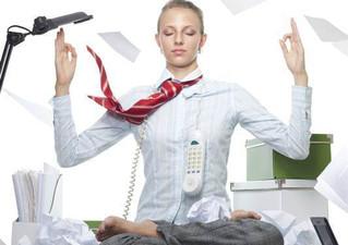 Você se achamuito agitado(a) para praticar yoga?