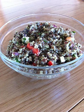 Quinoa & Lentil Salad