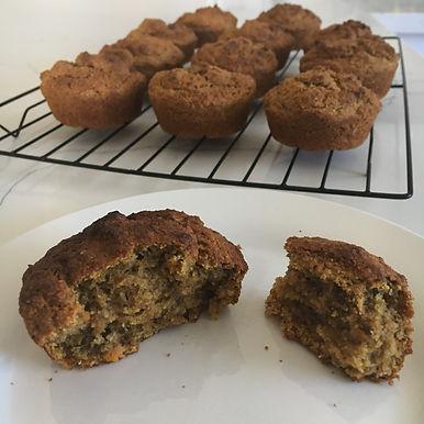 Spiced Sweet Potatoe Muffins