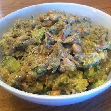 Creamy Tuna & Bean Salad