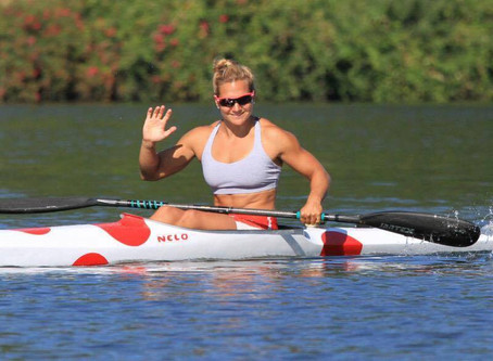 Emilie Fournel on her kayaking career