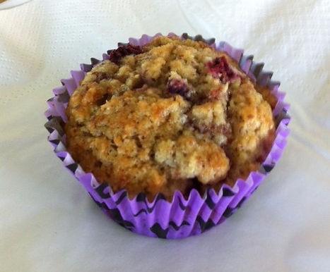 Raspberry & Coconut Muffin