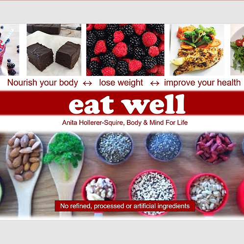 Eat well cookbook