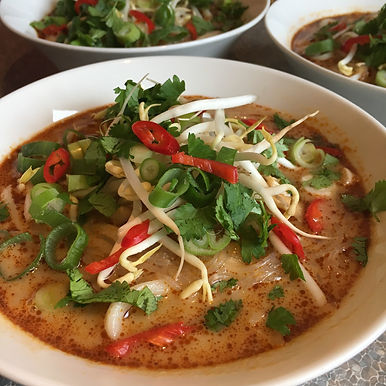 Asian inspired soup