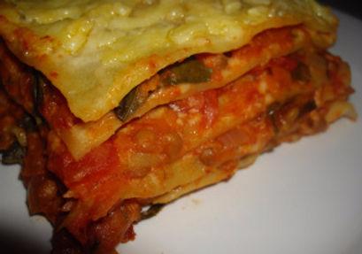 Vegetable & Lentil Lasagne