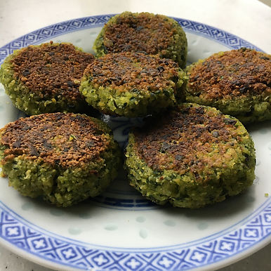 Spinach Falafels