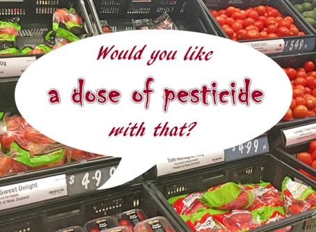 Worst pesticides used on food in NZ