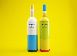 Packaging: Simpson Wine Bottles