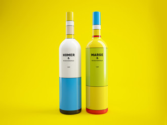Packaging: Simpson Wine Bottles