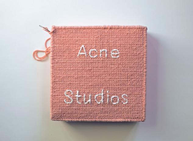 acne studios / embroidery