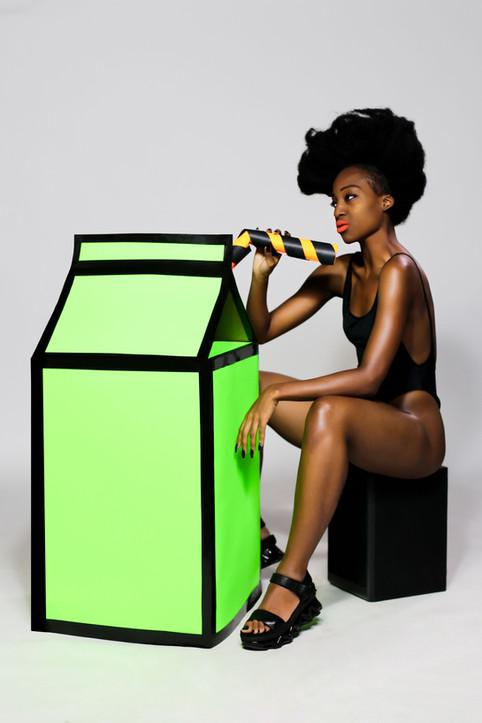 milk + melanin