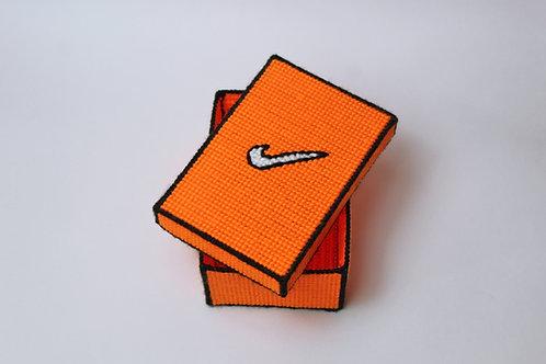 "nike ""shoe"" storage box"