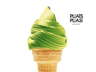 Graphic Design: 'Pleats Please'