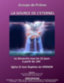 affiche groupe LA SOURCE DE L ETERNEL-pa