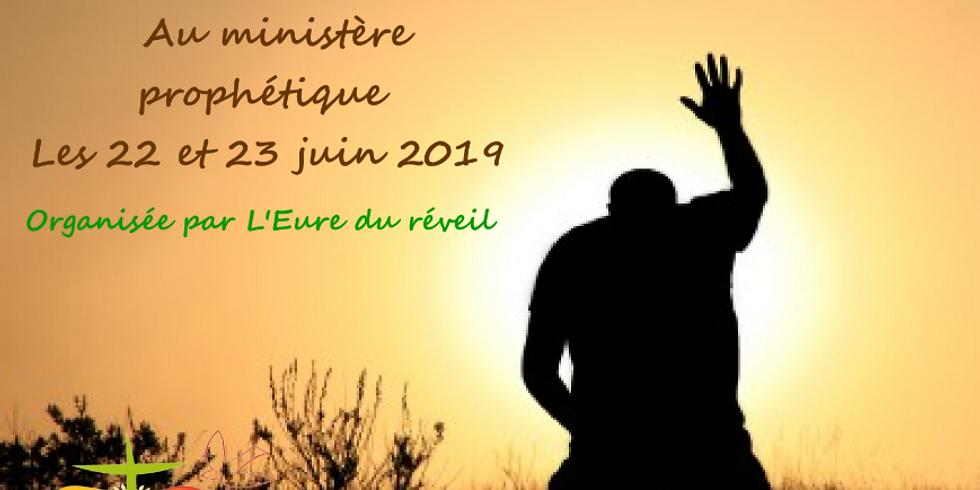 Retraite de Formation  Au ministère prophétique
