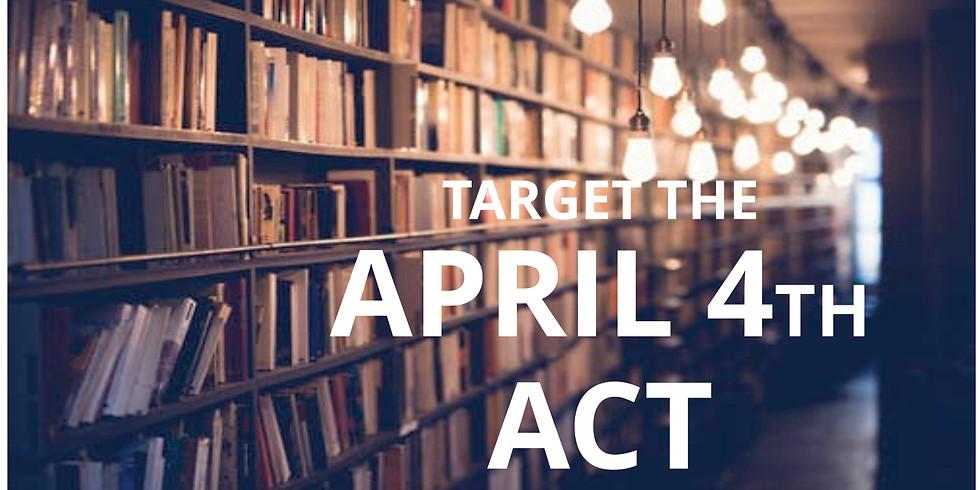 Class #ACT2015  -  ACT Prep (Thur Eve/Sat am)
