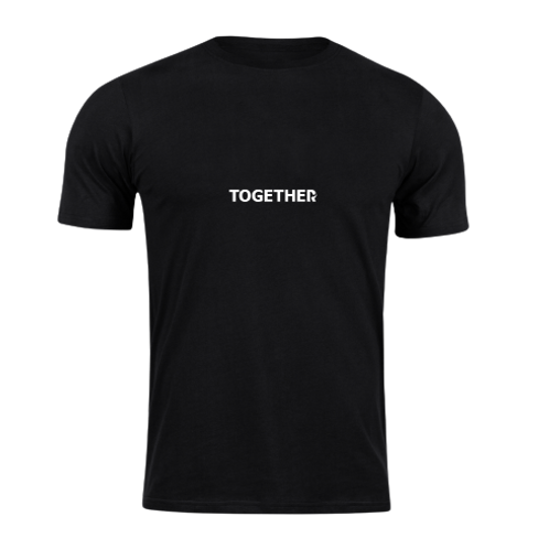 TOGETHER Black T-Shirt