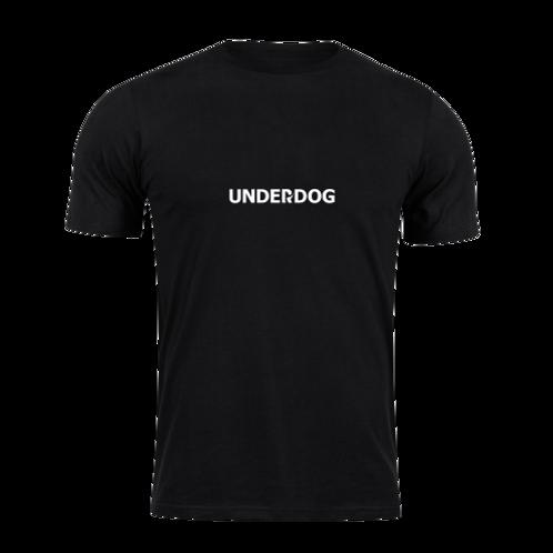 UNDERDOG Black T-Shirt