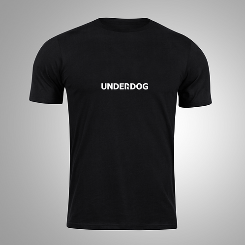 UNDERDOG Black/White T-Shirt