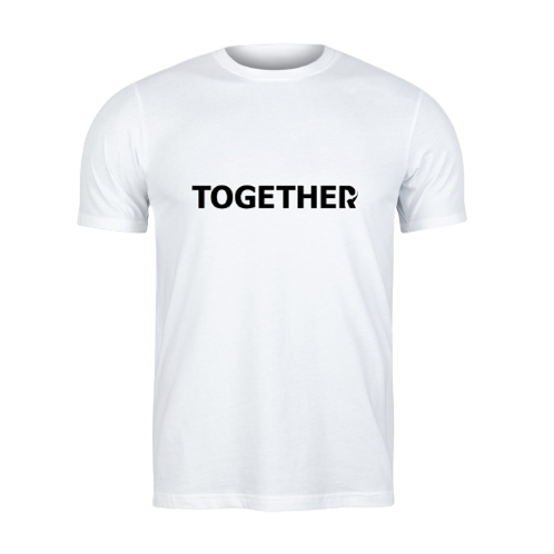 TOGETHER White T-Shirt