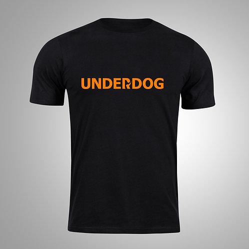 UNDERDOG Black/Orange T-Shirt
