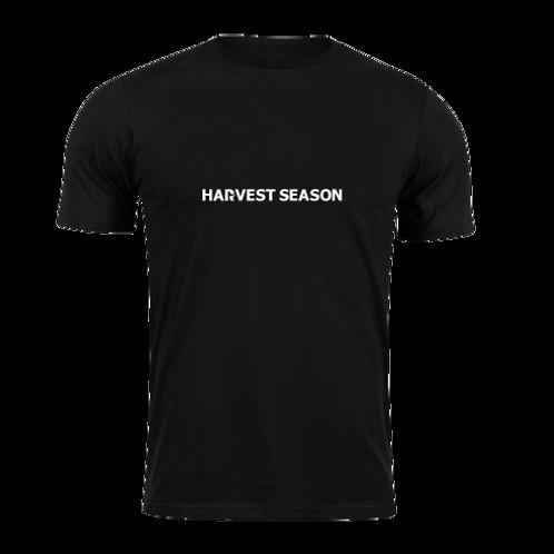 HARVEST SEASON Black T-Shirt