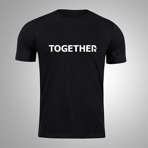 TOGETHER Black/White T-Shirt