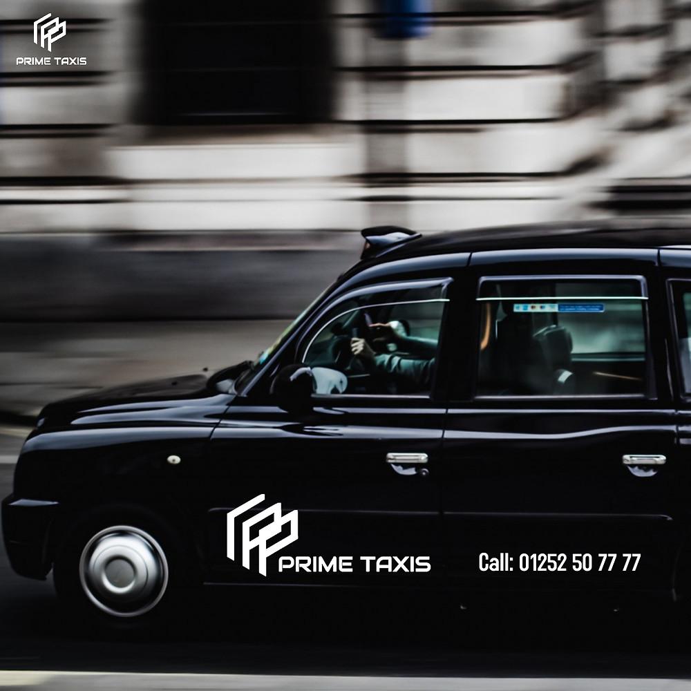 Prime Taxis Farnham provides taxis from Castle Street, Farnham.