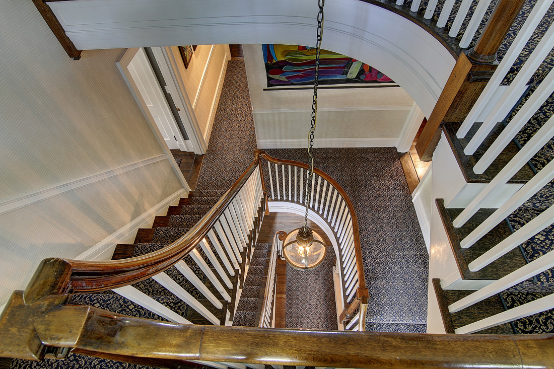 providence residence - stair hall