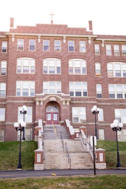 school architect monumental stair
