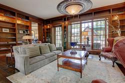 providence residence - library / den