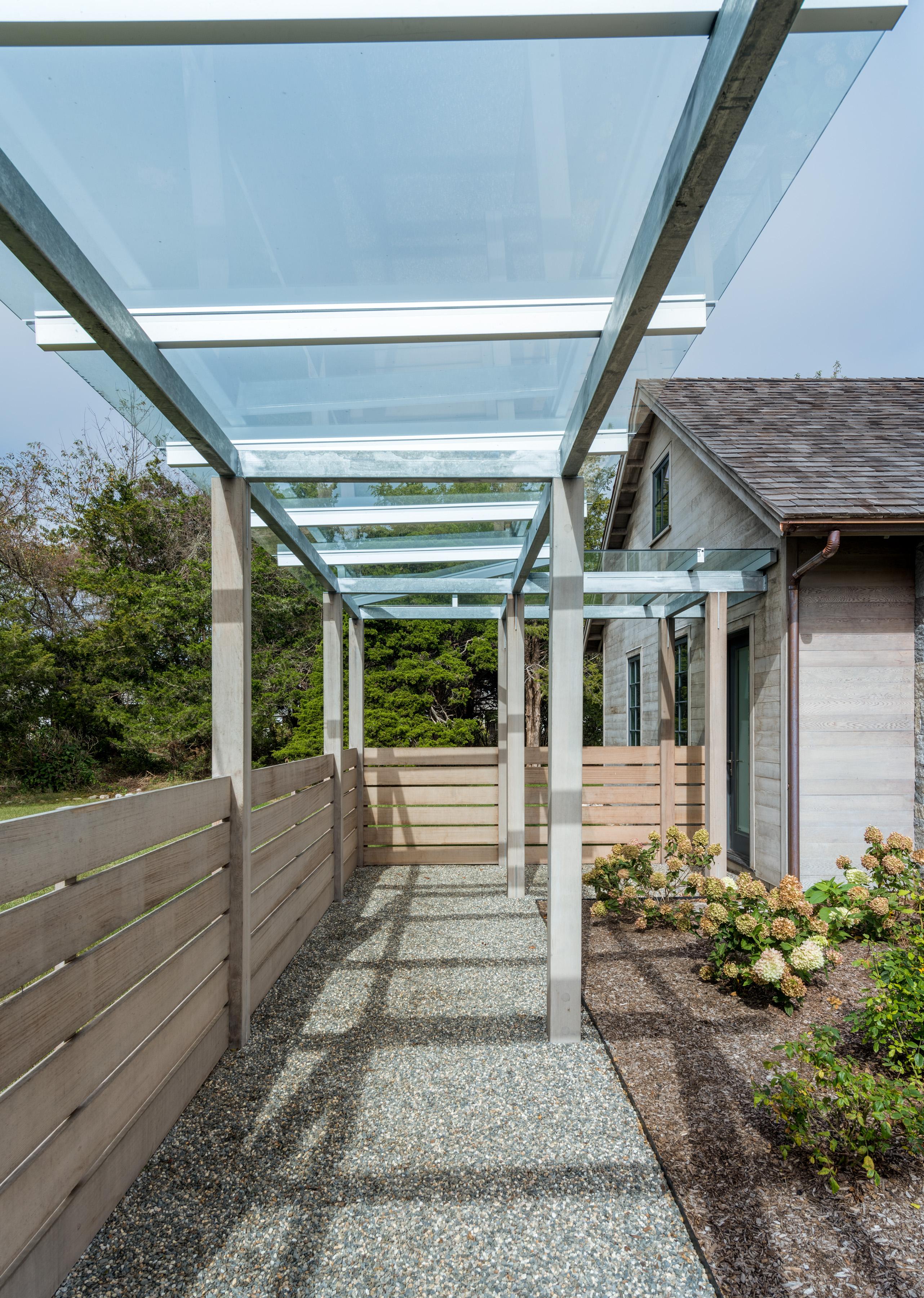 beach house charlestown glass roof