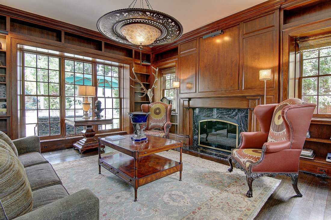 providence residence - library