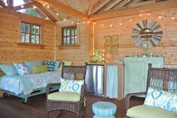 waterfront cabin interior design