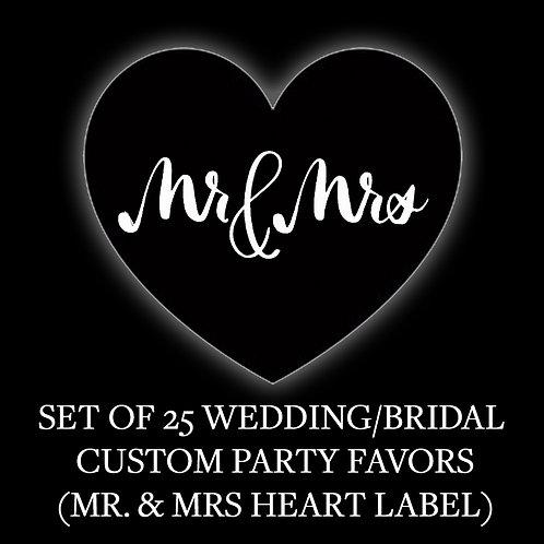 24 CUSTOM WEDDING & BRIDAL PARTY FAVORS
