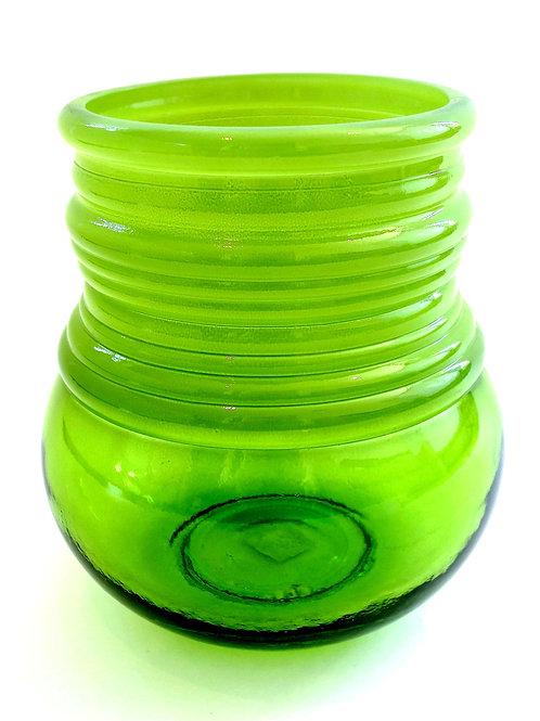 20cm Ribbed Vase