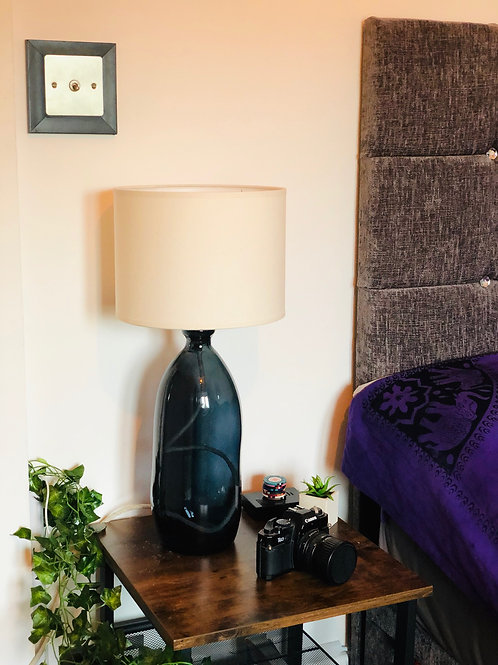 41cm Simplicity Recycled Glass Lamp
